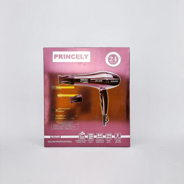 سشوار مو پرنسلی مدل Princely Professional Hair Dryer PR250AT