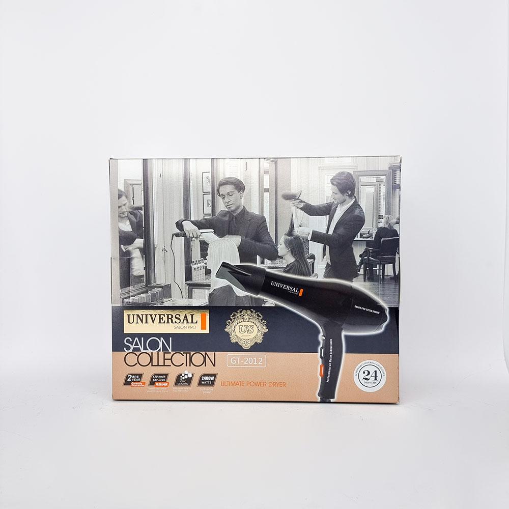 سشوار یونیورسال 2400وات مدلUniversal Hair Dryer GT-2012   سشوار یونیورسال